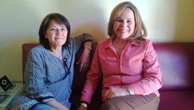 Fabiana Beneditto y Maria Lourdes