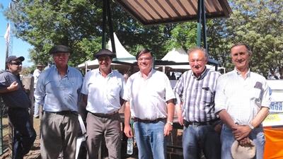 Alejandro Stirling, Diego Otegui, Martín San Román, Roberto Bertsch, Carlos Martín Correa
