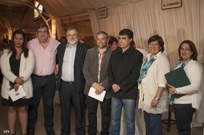 María Noel Rodriguez, Fabián Boscchia, Alberto Juan Crecionini, Pablo  Ferreira Pinto, Andrés Lima, Stella Caputto y Mariana Pizzarossa