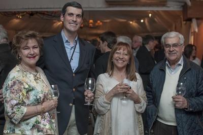Regina Venturella, Santiago Odobez, cónsul de Argentina, Nelly Rosas, Arturo Arroabarrena