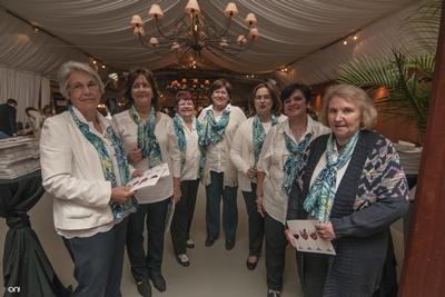 Carmen Quaglioto, Élida González, Marlyn Coelho, Stella Caputto,  Mariana Pizzarossa, Rosario Ramírez, Olga Menoni
