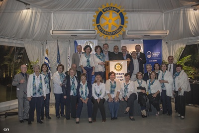 Integrantes de Rotary Club Salto Noreste