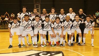 Equipo de Ferro Carril F.C Fútbol Sala, que a falta de dos partidos para el cierre del torneo Clausura (2ª rueda), se encuentra a un empate de conseguir su clasificación al inter zonal semifinal en Liga Uruguaya