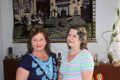 Sara y Silvia Mary: es como que tenemos los mismos gustos