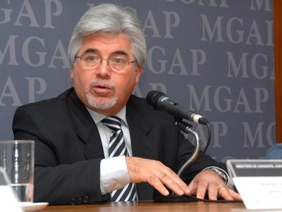 Ministro de Ganadería Tabaré Aguerre