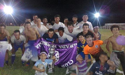 """Defensor de Parada Herrería ganó la Liguilla de la """"B""""  en la Liga Agraria"""