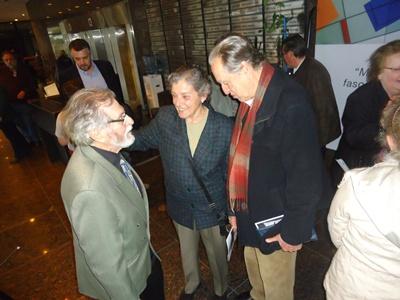 Rodríguez Musmanno junto a su colega socialista  José Díaz (ex ministro del Interior)