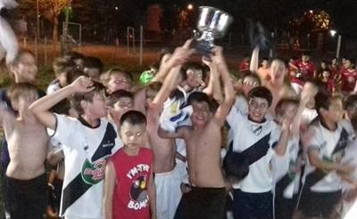 """Los chicos de Ferro Carril se quedaron con la Copa del Acumulado denominado """"100 años del Club Remeros Salto"""""""