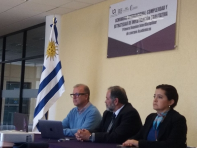 Profesionales de la sede Salto de UdelaR en México