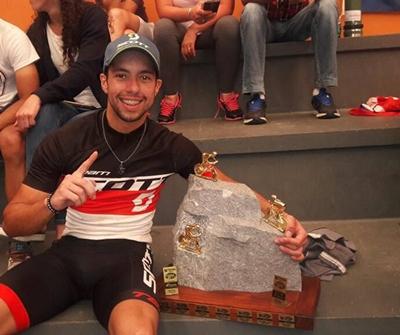 El salteño Kian Santana ganó la 16ª Travesía de Cerro Áspero de Mountain Bike