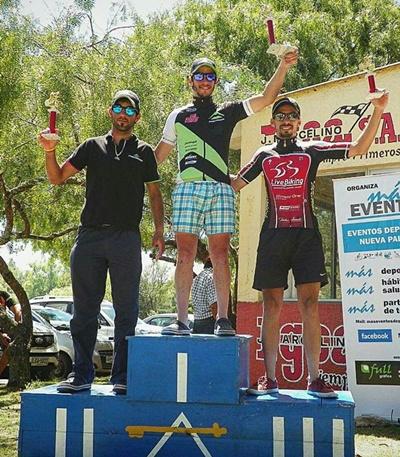 El salteño Nicolás Parodi ganó en la categoría Elite en la prueba de MTB celebrada en Nueva Palmira