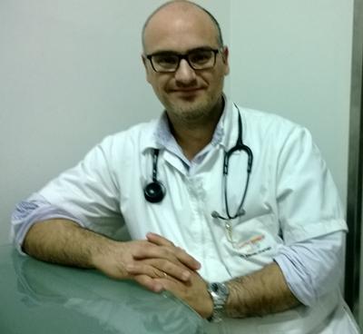 Con el Dr. Marcelo Gramajo.                                                     Medicina general -Endocrinólogo.