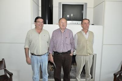 San Román, Bertsch y Correa, conductores de la firma