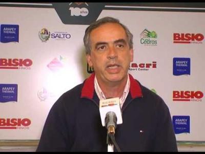 Álvaro Llama conversó con EL PUEBLO sobre el presente y el futuro del Club Remeros Salto
