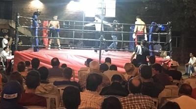 Un buen marco de público se dio cita en Salto Uruguay para presenciar la última velada de boxeo del año