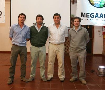 Gustavo Ferres, Joaquín Otegui Perrier, Juan Miguel Otegui, Santiago Raffo