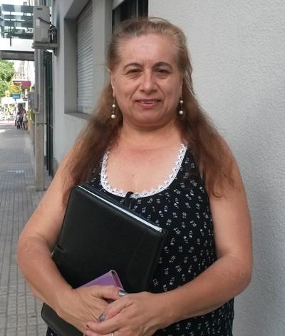 Inés Laxague:  una apuesta a la  unión de todos  por sobre las  banderas políticas