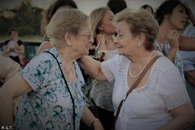 El reencuentro, Lidí Bacci Tanoni y Sara Cavanna de Baldassini