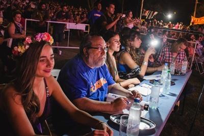 Parte del jurado: Aldana Quiñones,Roberto Lucero, Valeria Barrios y Florencia Stoll