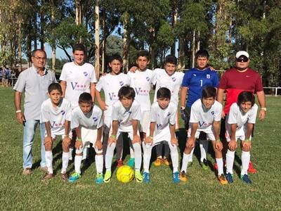 El plantel de ReSalto que fue vicecampeón de la Copa de Oro en la reciente Uruguay Cup