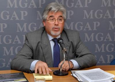 Tabaré Aguerre, Ministro de Ganadería