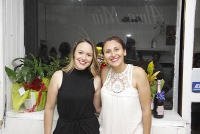 Alison Moraes, y Agustina de Souza. Principales de Alma Mía