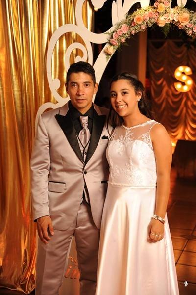 Ximena y su papá Robert Torrens