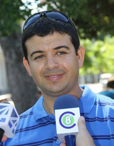 Cristian López, representante del SUPU