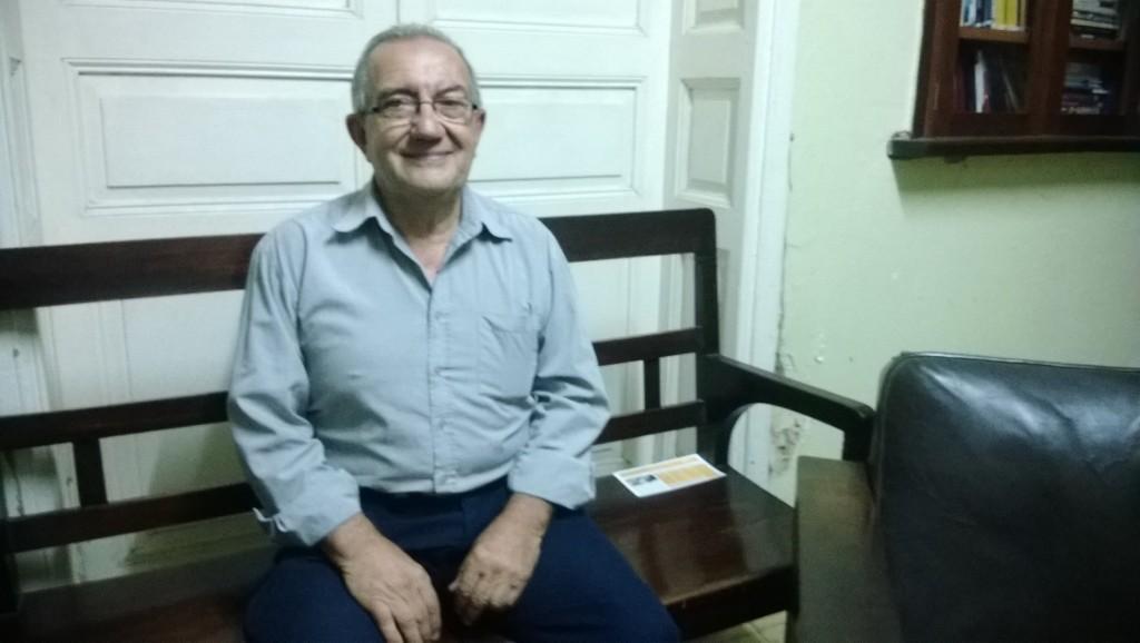 Juan Carlos Silveira. Director de F.M Nueva Era