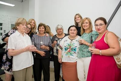 Goga, Claudia, Carola, Miguelina, Chola, Sofía, Adriana, Rosario, Jaqueline.