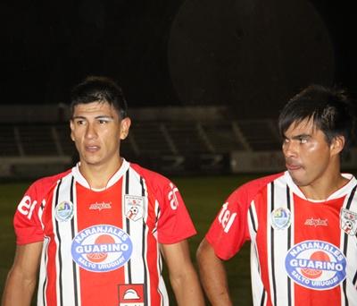Fabio Rondán al medio. Jugar o no jugar