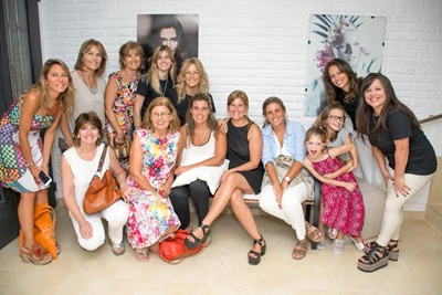 Magdalena, Cristina, Ana María, Sofía, Carola, Noel, Maricha, Adriana, Leticia, Carmen, Guadalupe, Egle, Shirley.