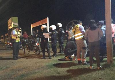 Una serie de vehículos fueron incautados tras un fuerte operativo entre la Policía y la Intendencia, hubo malestar  y enojo entre algunos conductores, pero las autoridades lo entienden necesario
