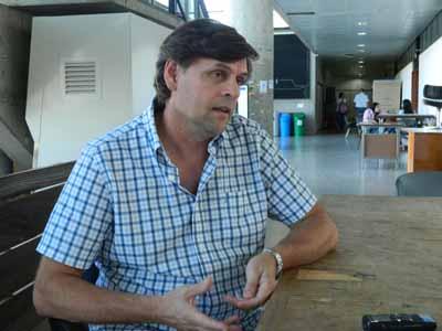 Dr. José Piaggio, docente de la Facultad de Veterinaria de la UdelaR