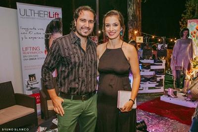 Adrián Girard y Evangelina Lechini