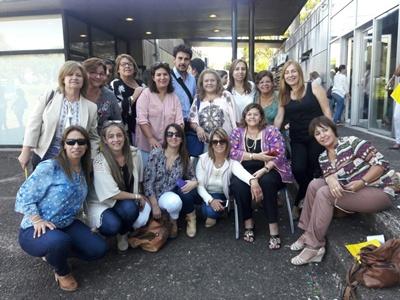 Algunas de las participantes de la Jornada
