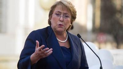 Michelle Bachelet, presidente de Chile