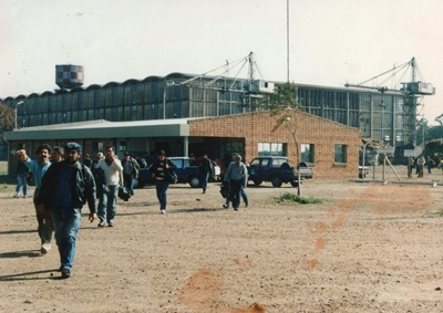 """Salida de trabajadores de """"El Espinillar"""""""