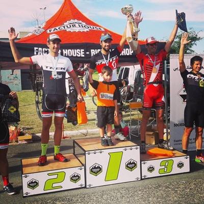 El salteño Kian Santana a todo podio, ganó la segunda fecha de la  Copa Entrerriana de Mountain Bike en Paraná