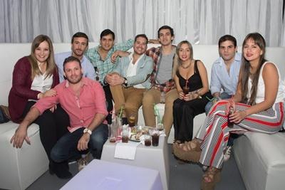 Lu Berreta, Ale Artave, Martin Techera, Carlo Lacoste, Martin, Nico Lewis, Mariana Machado, Oscar Medina y Mica Chiappini