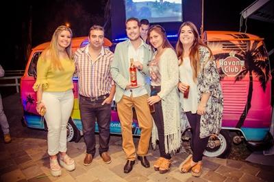 Rocio Silva, Antonio Viera, Martin, Valentina Tafernaverry y Belu Pedrozo