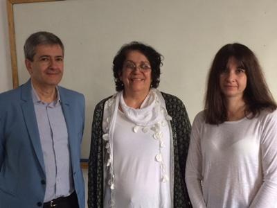 La apertura del curso a cargo del  Director de UCU Salto, Emilio Silva