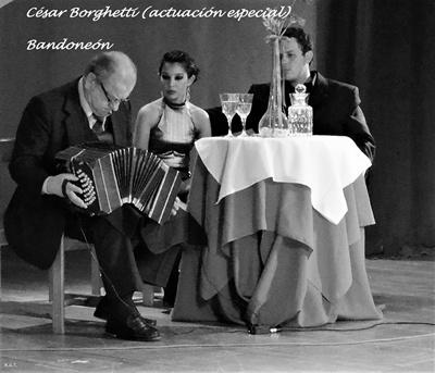 César Borghetti- Bandoneón