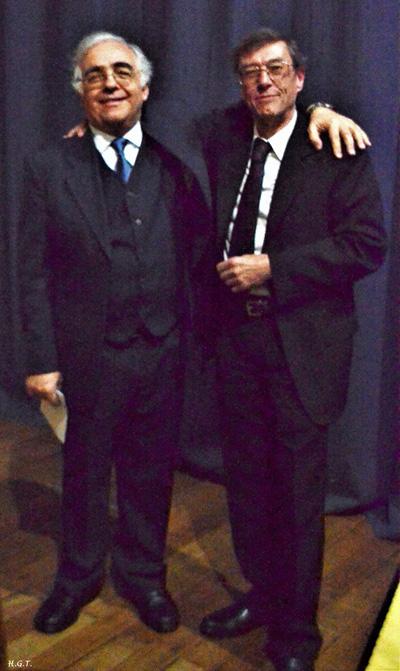 Maestros Julio César Huertas y Julio Bello