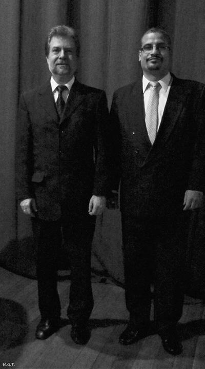 Eduardo Garella y Gerardo Marandino