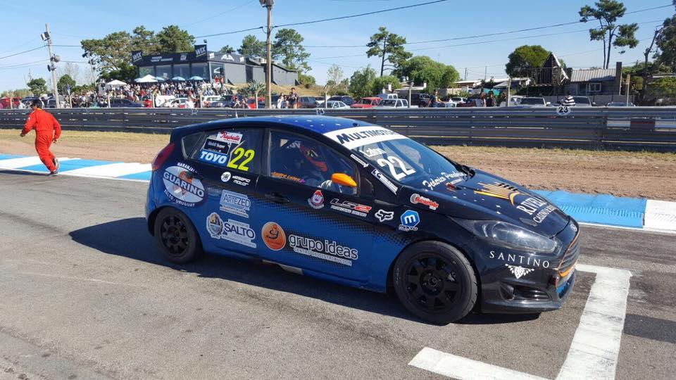 El piloto salteño André Lafón corre hoy la segunda fecha de la categoría Superturismo en El Pinar