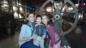 Romina y sus hijos