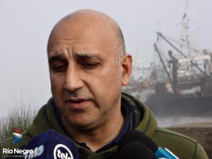 Valerio Buffa, buzo salteño participa en la búsqueda