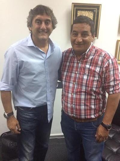 """Enzo Francéscoli y el """"Lolo"""" Aguirre.  Los puentes tendidos en Buenos Aires"""