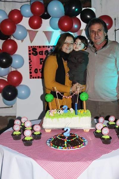 Abuelos maternos Rubén y Patricia